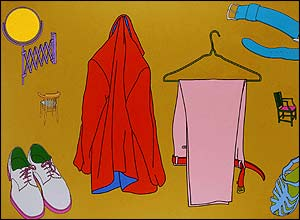 Mood Change One by Michael Craig-Martin