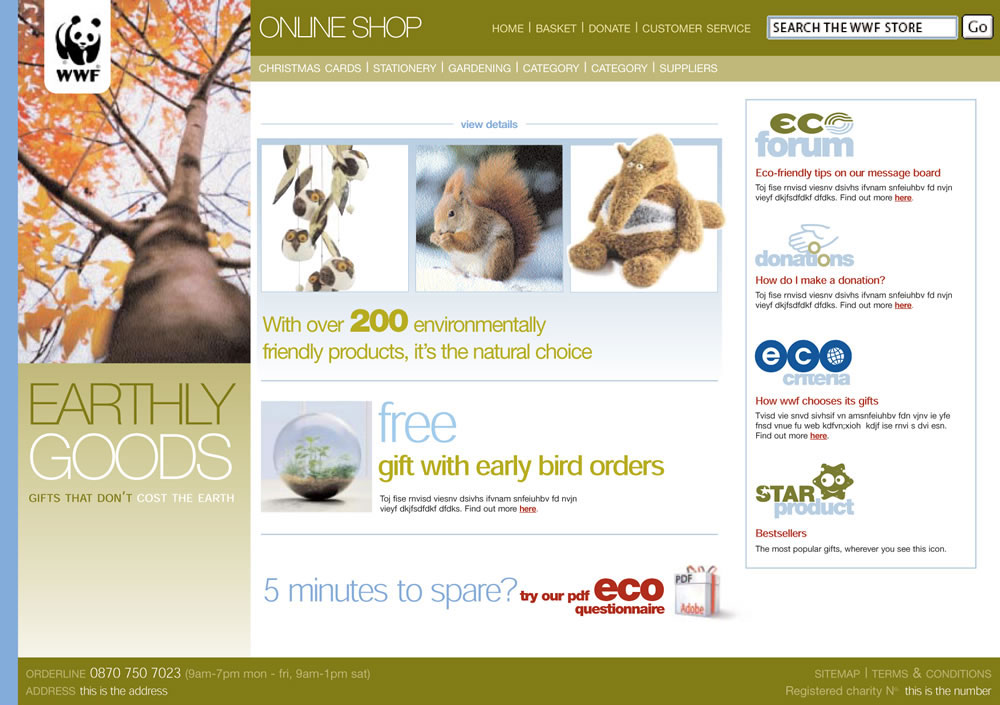 WWF UK online store | Stuff & Nonsense blog