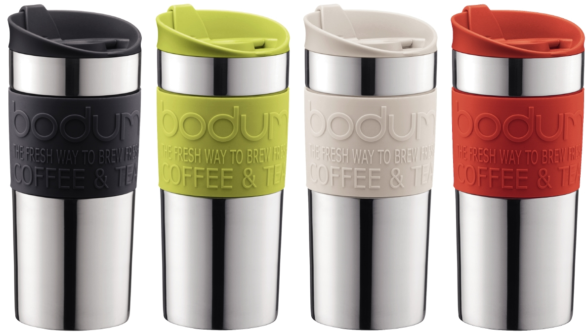Best Coffee Mugs Reviews - Bodum vacuum travel mug