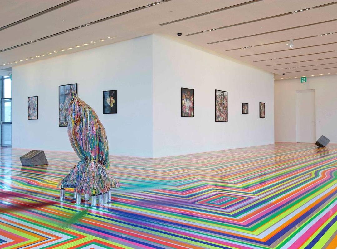 Jim Lambie installation